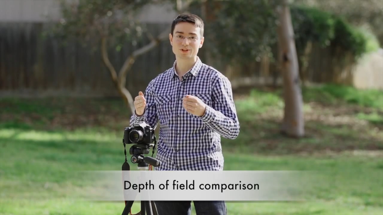 Full frame vs Crop sensor comparison – Video Upskill