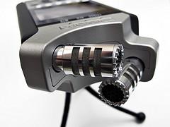 XY stereo mic