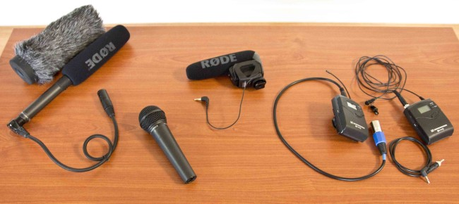 mics for video production