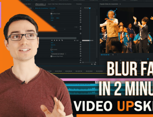 How to Blur Faces in Premiere Pro CC 2017